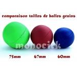 balle à grains 67mm