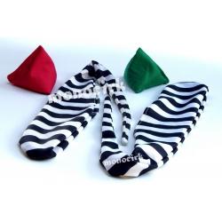 sock zèbre + try it