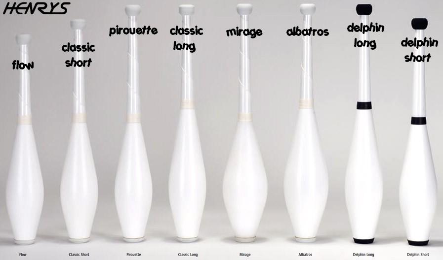 8 styles différents